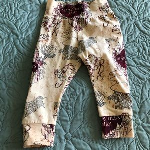 Other - Harry Potter's The Marauder's Map Infant Leggings